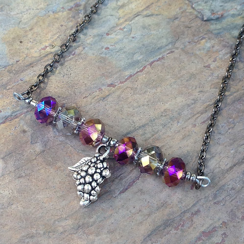 Syrah Bar Necklace