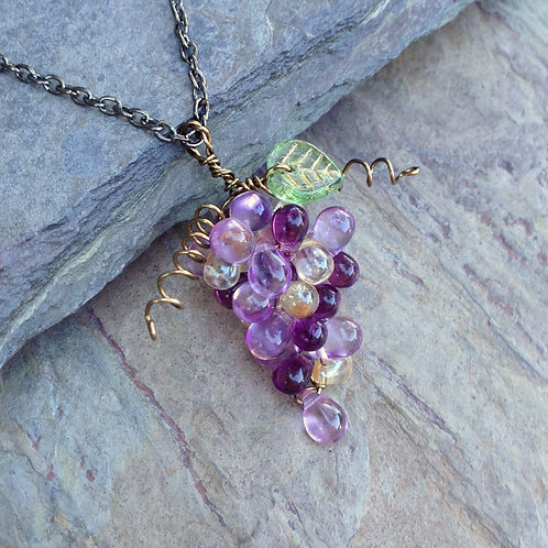 Pinot Cluster Pendant
