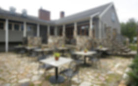 Terrace at Spat Oyster Cellar for party planning
