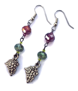 wine jewelry, grape jewelry, wine lovers gift, wine glass jewelry, unique handcrafted jewelry, wine-inspired jewelry, wine-themed jewelry, wine country gifts, grape jewelry, winery gifts, wine gifts, jewelry for wine lovers