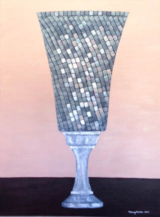 """Mosaic Vase"""