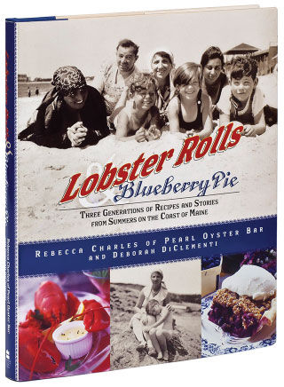 Lobster Rolls and Blueberry Pie seafood cookbook