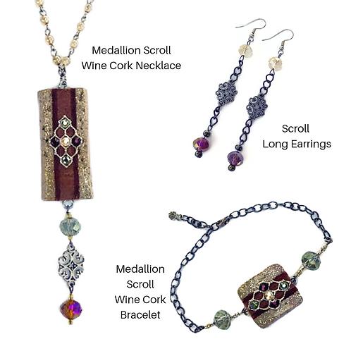Cork Necklace Gift Set