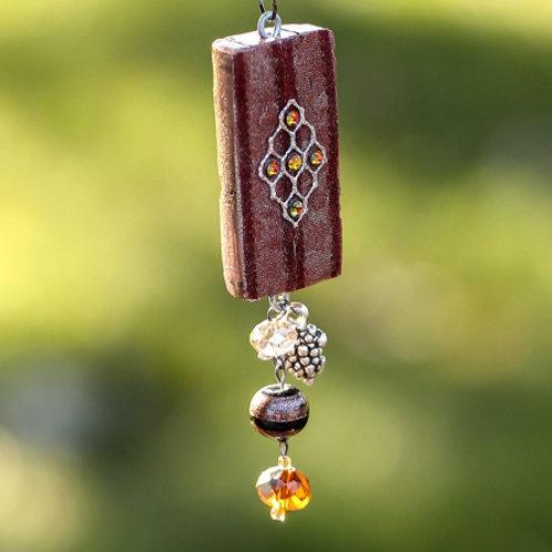 Cabernet Medallion Necklace