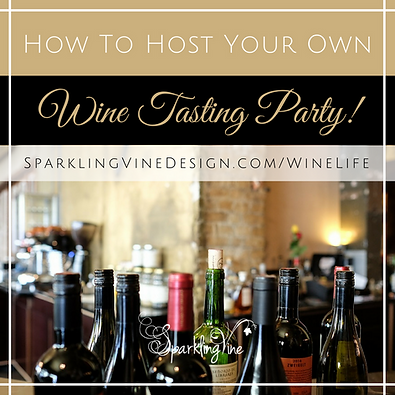 Lifestyle blog with posts about a wine tasting party and fashion advice