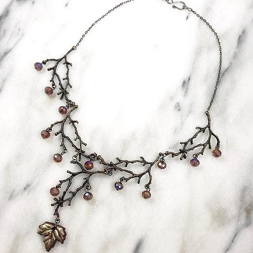 Twig Statement Necklace