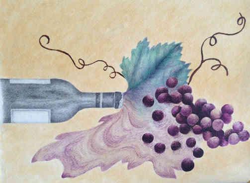"""Spilled Grapes"""