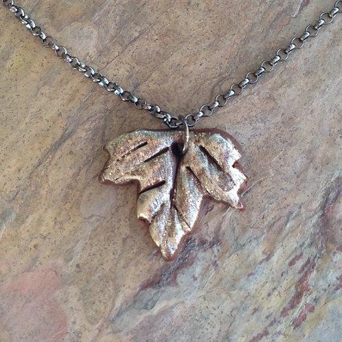 Mini Clay Grape Leaf