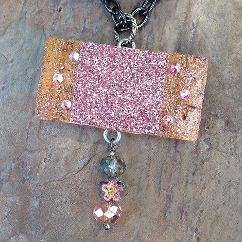 Pink Shimmer Necklace
