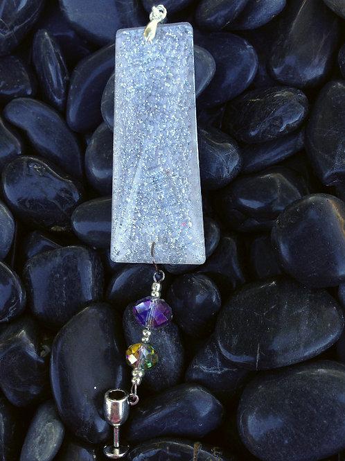 Silver Mesh Crystal