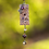 Thumbnail: Mesh Grape Peacock Necklace