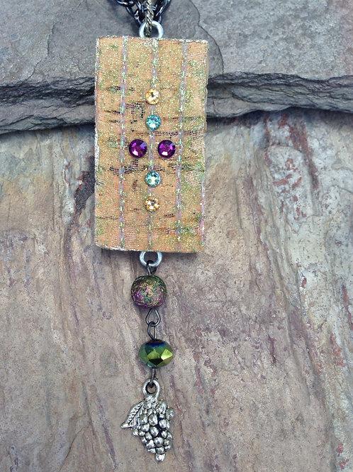 Iridescent Grape Necklace