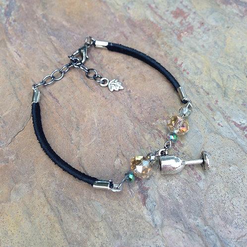 Wine Glass Bracelet
