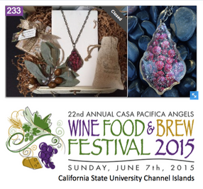 Wine Jewelry for a Good Cause
