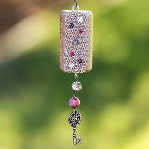 Mesh Key Necklace