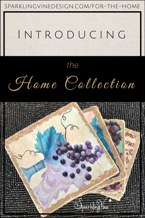 Perfect Wine Lovers' Gifts - The Sparkling Vine Home Collection!