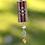 Thumbnail: Burgundy Medallion Necklace