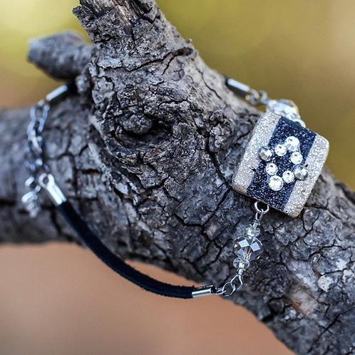 Black Rhombus Bracelet
