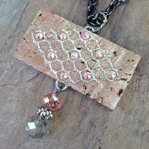 Medallion Rosé Necklace