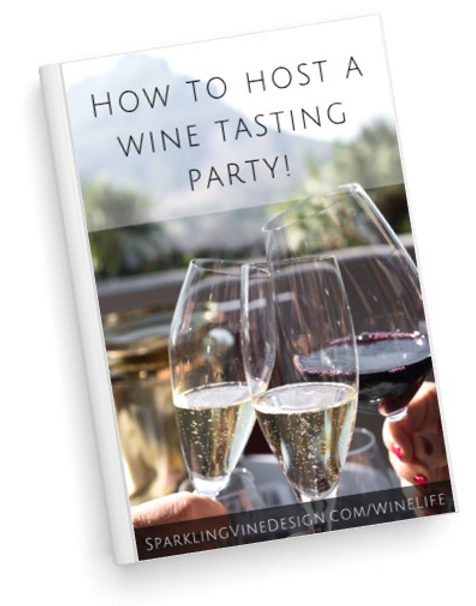 Free guide for how to host your own wine and cheese party food & wine and wine and food pairing