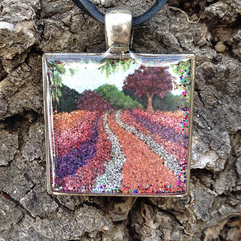 Garden Path Sq Pendant