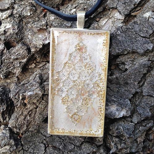 Medallion Rec Pendant