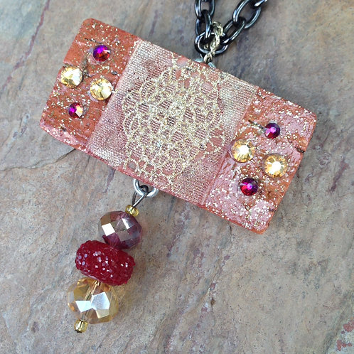 Fire Wine Necklace