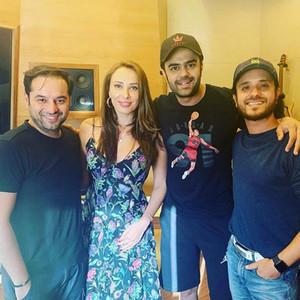 Prem Soni, Lulia Vantur, Manish Paul and Raghav Sachar