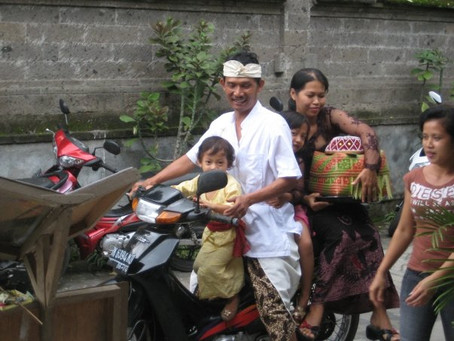 6 strange things you'll see in Bali before reaching the hotel
