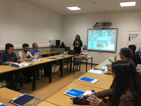 Europe Direct Aveiro - Workshop