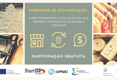 Vendas Novas recebe workshop gratuito sobre Eco-inovação e Economia Circular