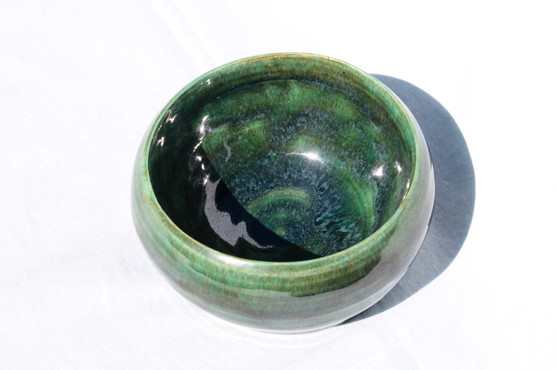 Glazed clay