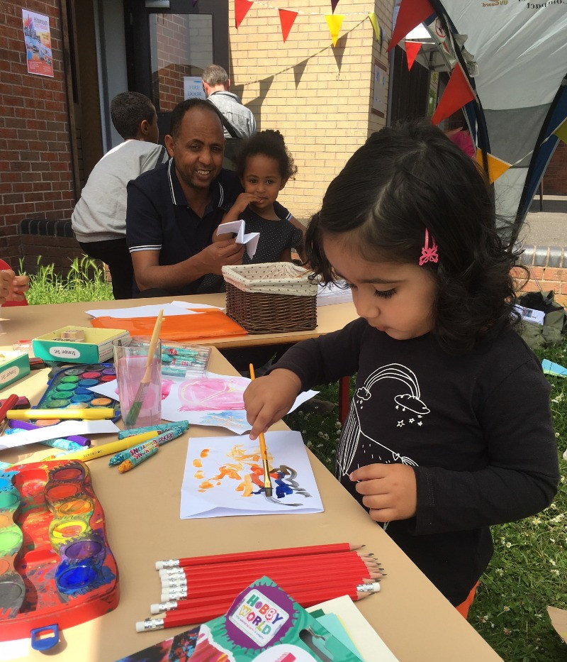 Children and family drop in workshops