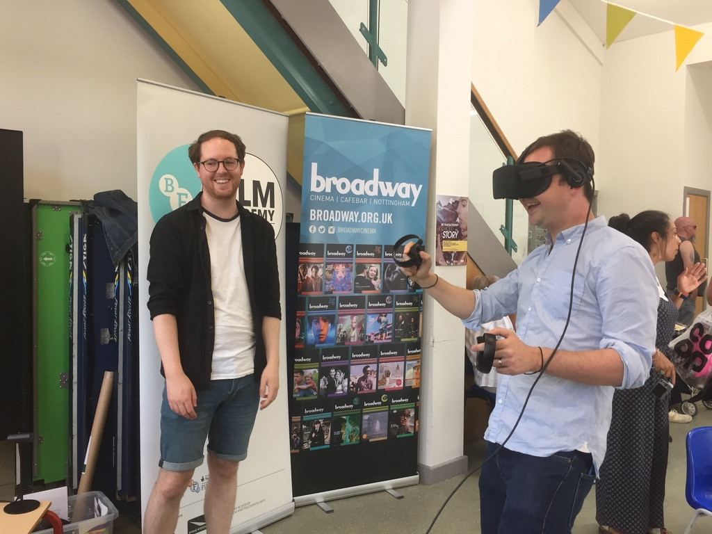 Broadway VR experience
