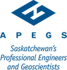 Saskatchewan's Association of Professional Engineers and Geoscientists Logo