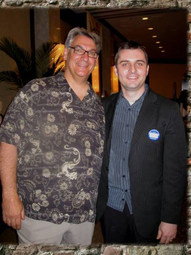 With Dave Dravecky, Chicago (2009)