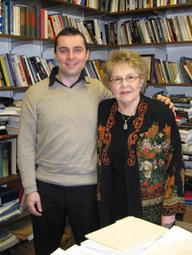 With Jean Bethke Elshtain, University of Chicago (2008)