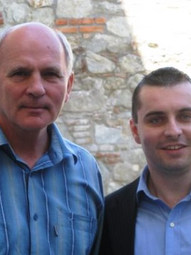 With František Mikloško, National Council of the Slovak Republic, Bratislava, Slovakia (2008)