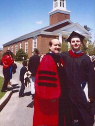 With Eldin Villafañe, Gordon-Conwell Theological Seminary, Graduation (2003)