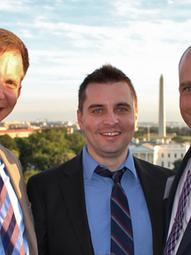 With Daniel Strand and Marc LiVecche, Rumsfeld Foundation, Graduate Fellowship Conference, Washington DC (2014)