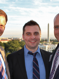 With Daniel Strand and Marc LiVecche, Rumsfeld Foundation, Graduate Fellowship Conference, Washington DC (2014)