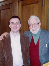 With Harvey Cox, Harvard University, Divinity School (2005)