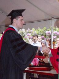 Harvard University, Divinity School, Graduation (2005)