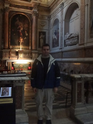 Chapel of St. Monica in the Basilica of St. Augustine, Rome, Italy (2013)