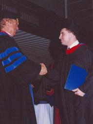 With Walter C. Kaiser, Gordon-Conwell Theological Seminary, Graduation (2003)