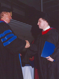 With Walter C. Kaiser, Gordon-Conwell Theological Seminary, Graduation (2003)