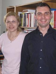 With Michaela Moravčíková, Institute for State-Church Relations, Bratislava, Slovakia (2008)