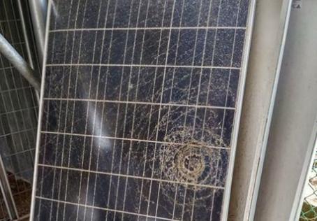גילוי נזק פיזי או תקלה פנימית בפאנל סולארי