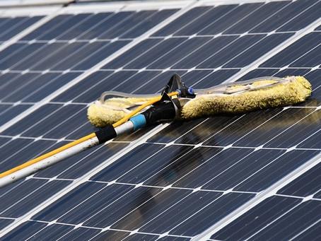 מדידת מצב ניקיון מערכות סולאריות פוטו-וולטאיות מסחריות על גגות