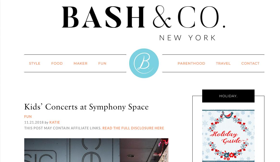 Bash & Co. NYC Blog